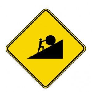 A Sisyphus Sign