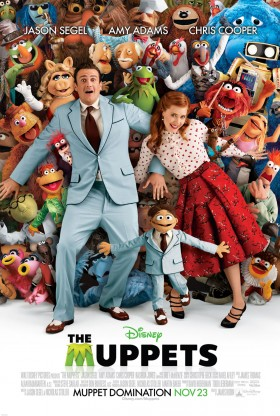 The Muppets 2011 Official Movie Poster