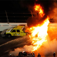 2012 Daytona 500 Crash