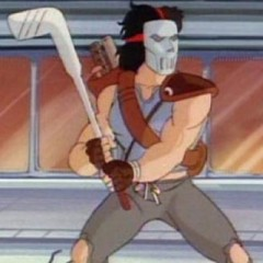 Casey Jones Teenage Mutant Ninja Turtles Cartoon