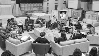 The cast of Star Wars Episode VII The Force Awakens