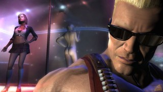 Duke Nukem Forever Duke and Strippers
