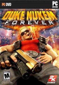 Duke Nukem Forever PC Cover