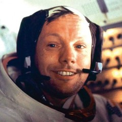 Neil Armstrong died today at the age of 82