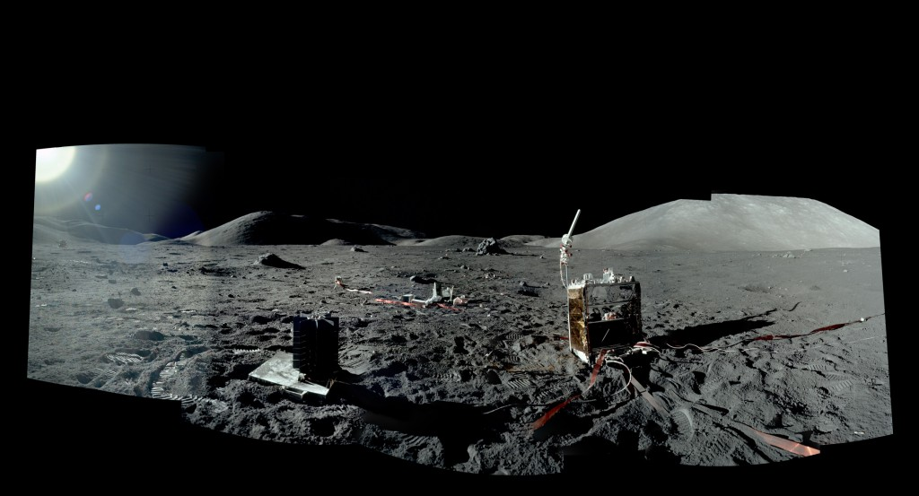 Panoramic Image from Apollo 17
