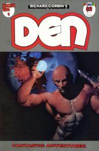 Richard Corben Den Comic Book