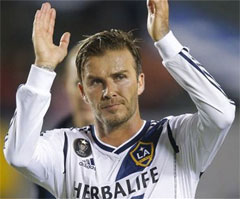 David Backham LA Galaxy Last Game
