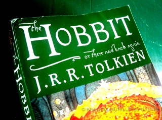 The Hobbit book or There and Back Again A Hobbits Holiday by JRR Tolkien