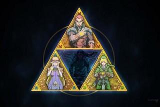 The Triforce Art by Luis Santiago