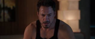 Tony Stark having a Panic Attack in Iron Man 3