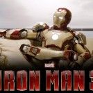 iron man 3 life model decoy on couch
