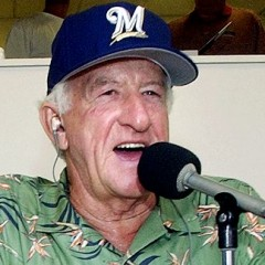 Bob Uecker Announcing Close Up