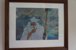 Gandalf the White in Bakshi's Lord of the Rings