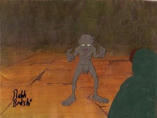 Ralph Bakshi's animated Gollum
