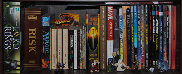 Geek Space Shelf of Inspiration