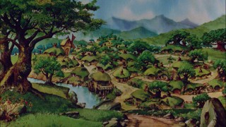 Bakshi's Lord of the Rings The Shire