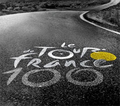 100th running of the Tour de France