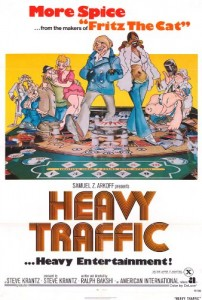 Heavy Traffic Promotional Poster