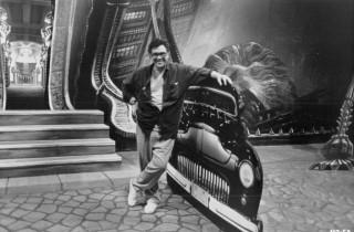 Ralph Bakshi on the set of Cool World 1992