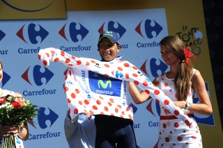 Nairo Alexander Quintana Rojas wins Polka Dot Jersey