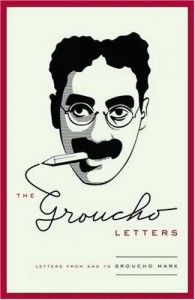 The Groucho Letters by Groucho Marx Book Cover
