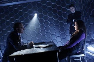Agent Phil Coulson, Agent Grant Ward and Skye