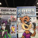 Capes n Babes Illustrator Chris Flick at The Great Allentown Comic Con