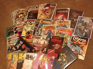 Loot from the 2013 Great Allentown Comic Con