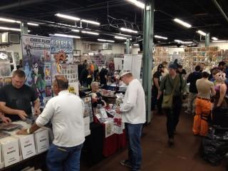 The 2013 Great Allentown Comic Con vendors