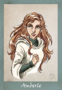 Amberle Elessedil Elfstones of Shannara