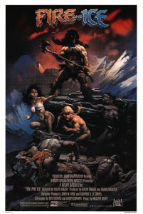 Fire and Ice paired Ralph Bakshi with Frank Frazetta 201x300 Rotospective: Ralph Bakshi, Lessons in Artistry, Rebellion and Success