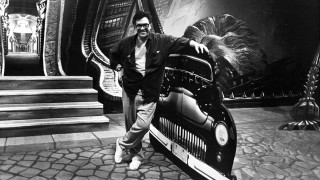 Ralph Bakshi on the set of Cool World in 1992