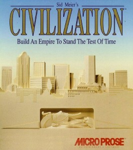 Sid Meier's Civilization 1 Box Art
