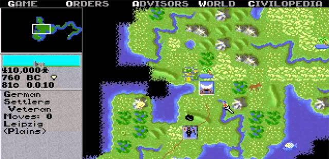 Sid Meier's Civilization Retro Gaming Revisited
