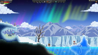 Starbound Arctic Planet