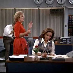 Sue Ann Nivens on Snow from Mary Tyler Moore Show