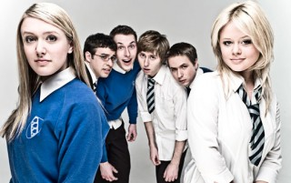 The Inbetweeners with two Love Interests