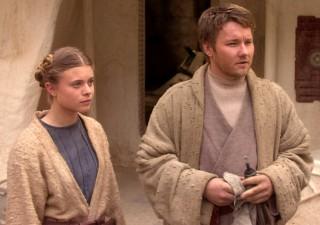 Young Owen and Beru Star Wars