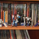 Comic Collection with Figurines