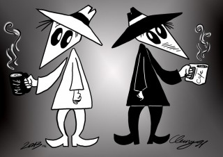 Spy vs Spy - Breakfast Drink
