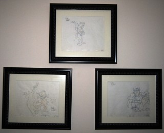 Wizards Sketch Animation Art