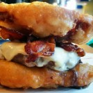 Deep-Fried Twinkies Burger