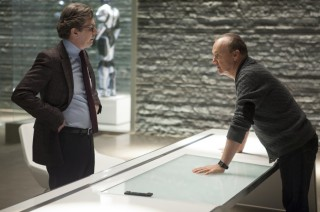 Gary Oldman and Michael Keaton in Robocop 2014 Movie