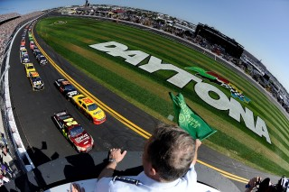 Green Flag at the Daytona 500