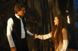 Han Solo and Princess Leia - Star Wars