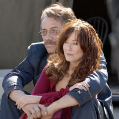 Laura Roslin and William Adama - Battlestar Galactica