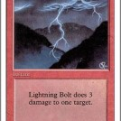 Lightning Bolt from Revised Edition