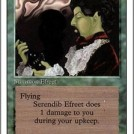 Misprinted Revised Green but Blue Serendib Efreet