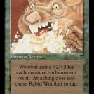 Rabid Wombat from Legends