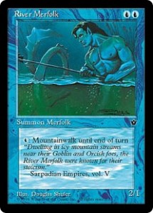 River Merfolk from Fallen Empires
